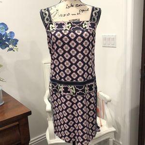 Diane Von Furstenberg patterned strap dress